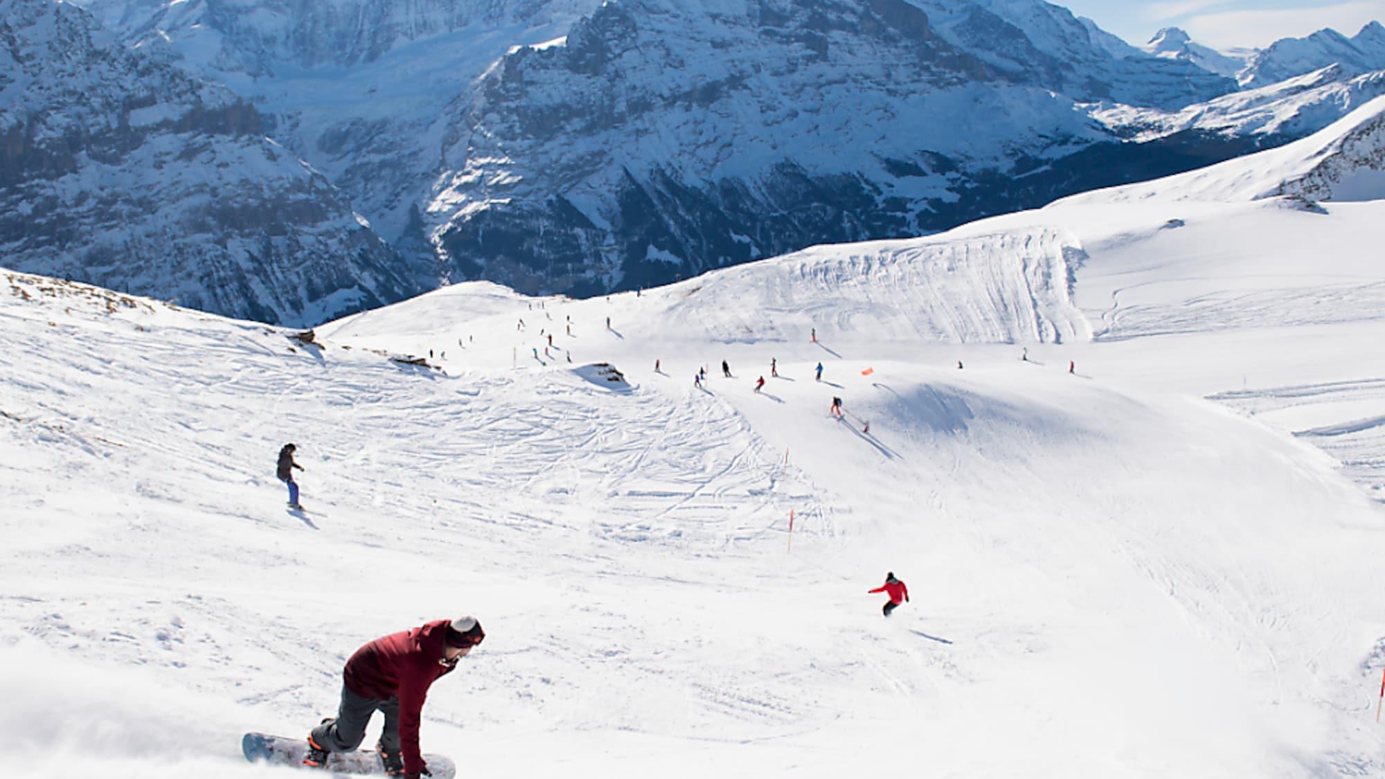 Wintersport: Jungfraubahnen planen Limitierung der Anzahl Skifahrer