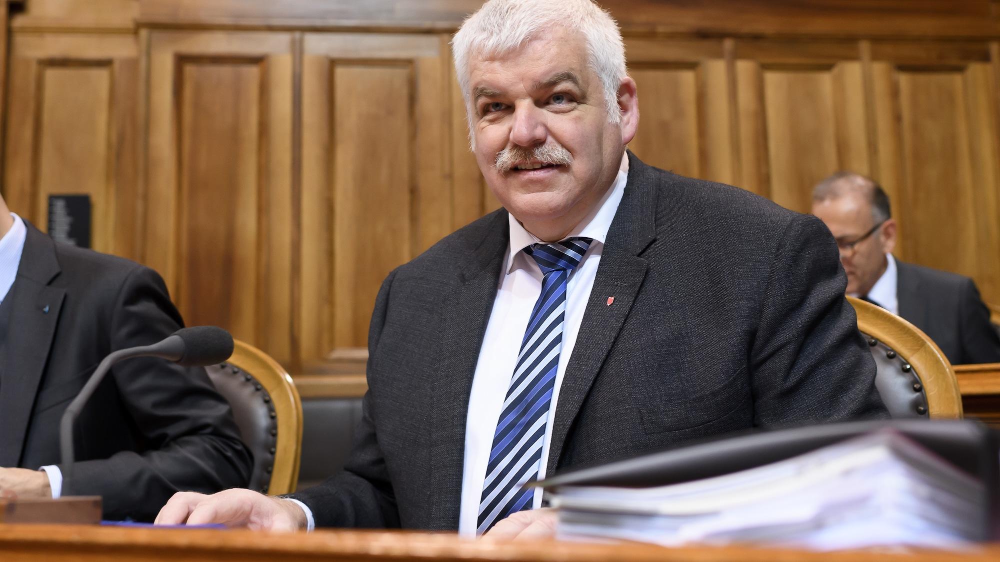 Ein «F» zu viel für Othmar Reichmuth (CVP): Parlamentsverwaltung macht aus Ständerat eine Frau