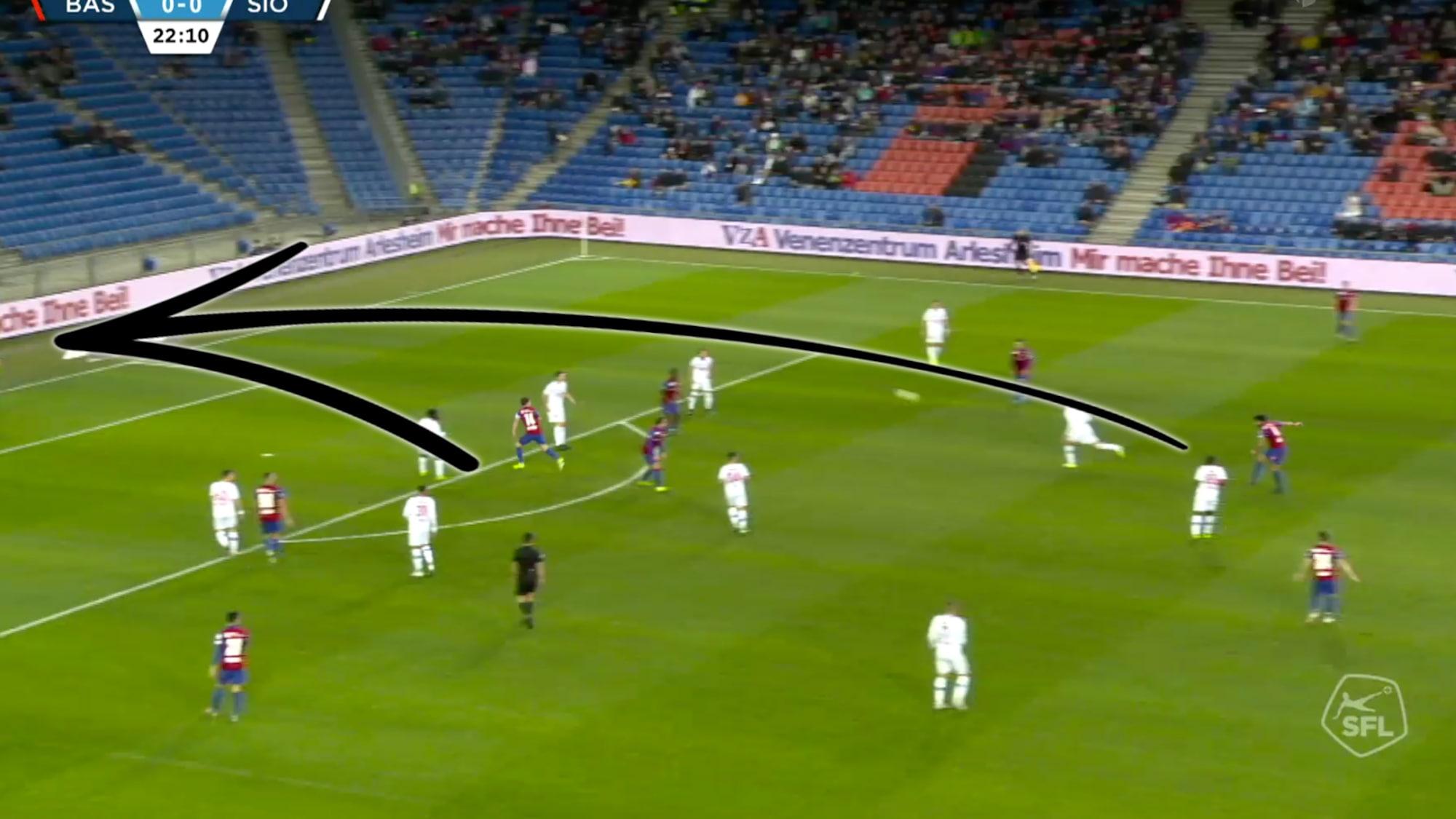 Bei Basel-Gala gegen Sion: Cömert erlöst den FCB mit dieser 30-Meter-Granate