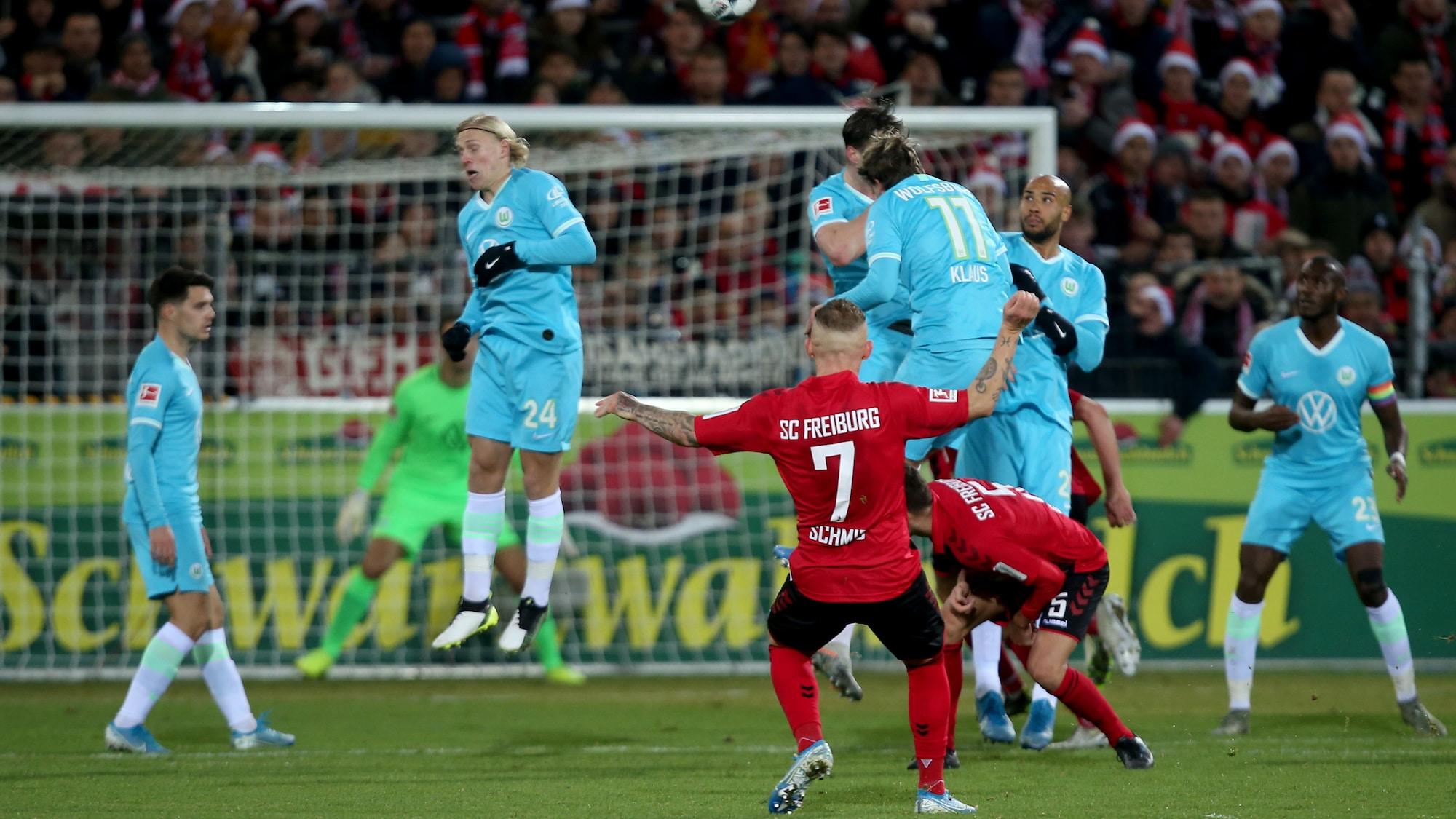 Freistoss gegen Wolfsburg passt haargenau: Schmid versetzt Freiburg kurz vor Schluss in Ekstase