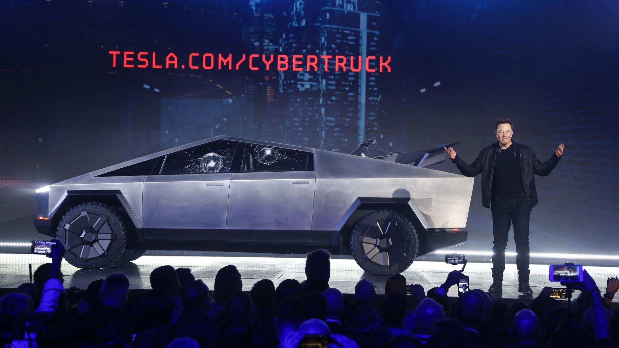 Zu gefährlich für Fussgänger und Passagiere: Tesla-Cybertruck wird in Europa nie fahren