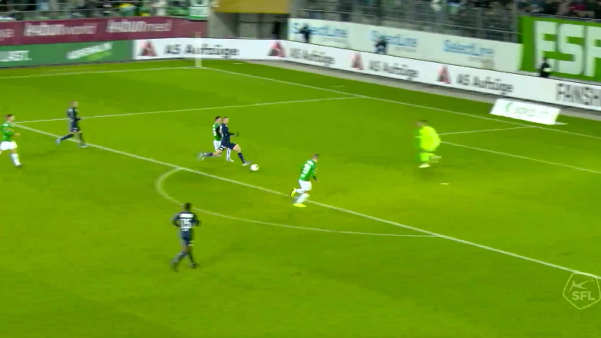 Penalty leitet FCZ-Sieg ein: Diese Hefti-Grätsche vermiest Espen-Party