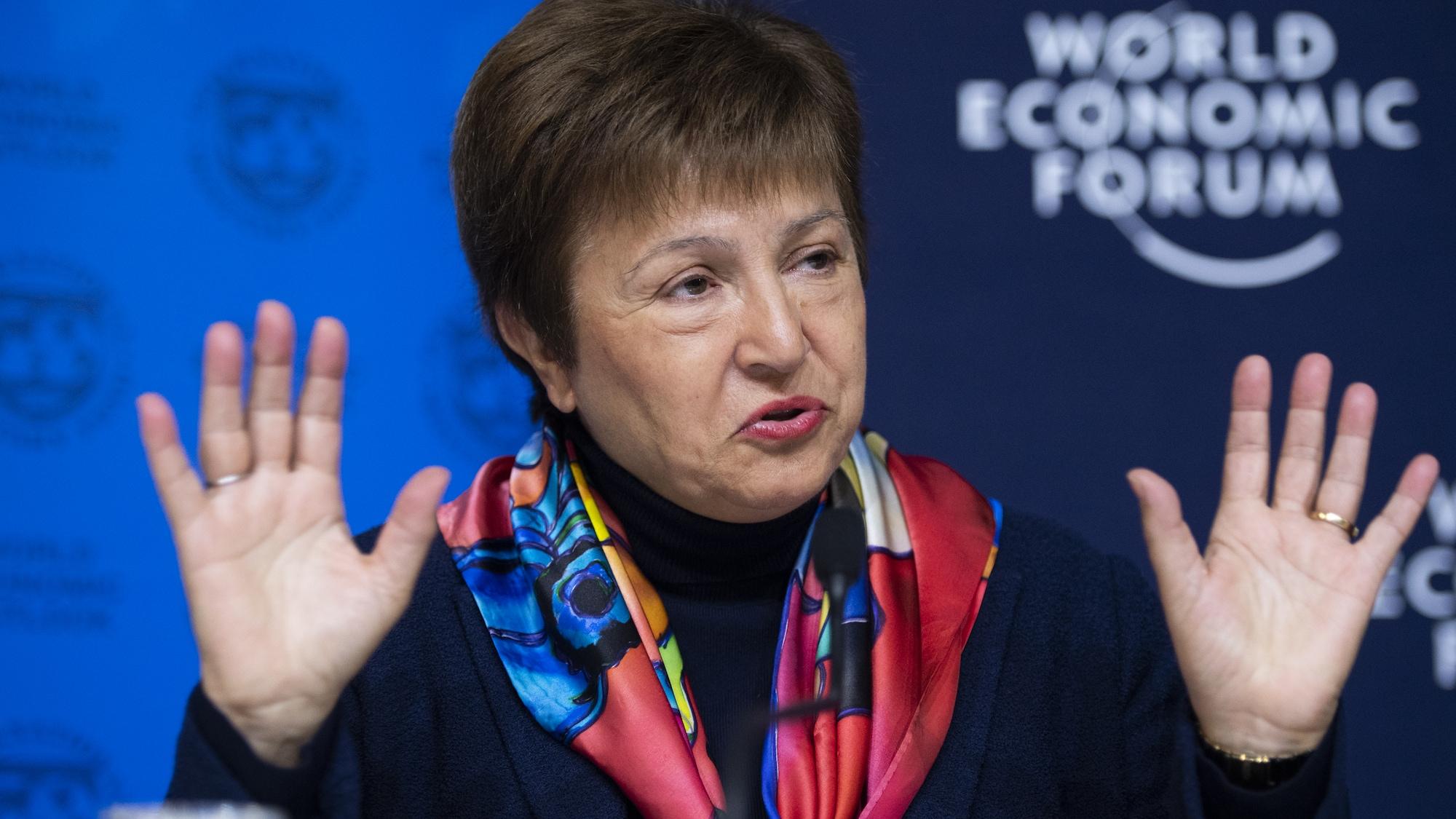 IWF-Chefin Kristalina Georgiewa ist die Spielverderberin der Weltwirtschaft: Optimismus? Nicht mit ihr!