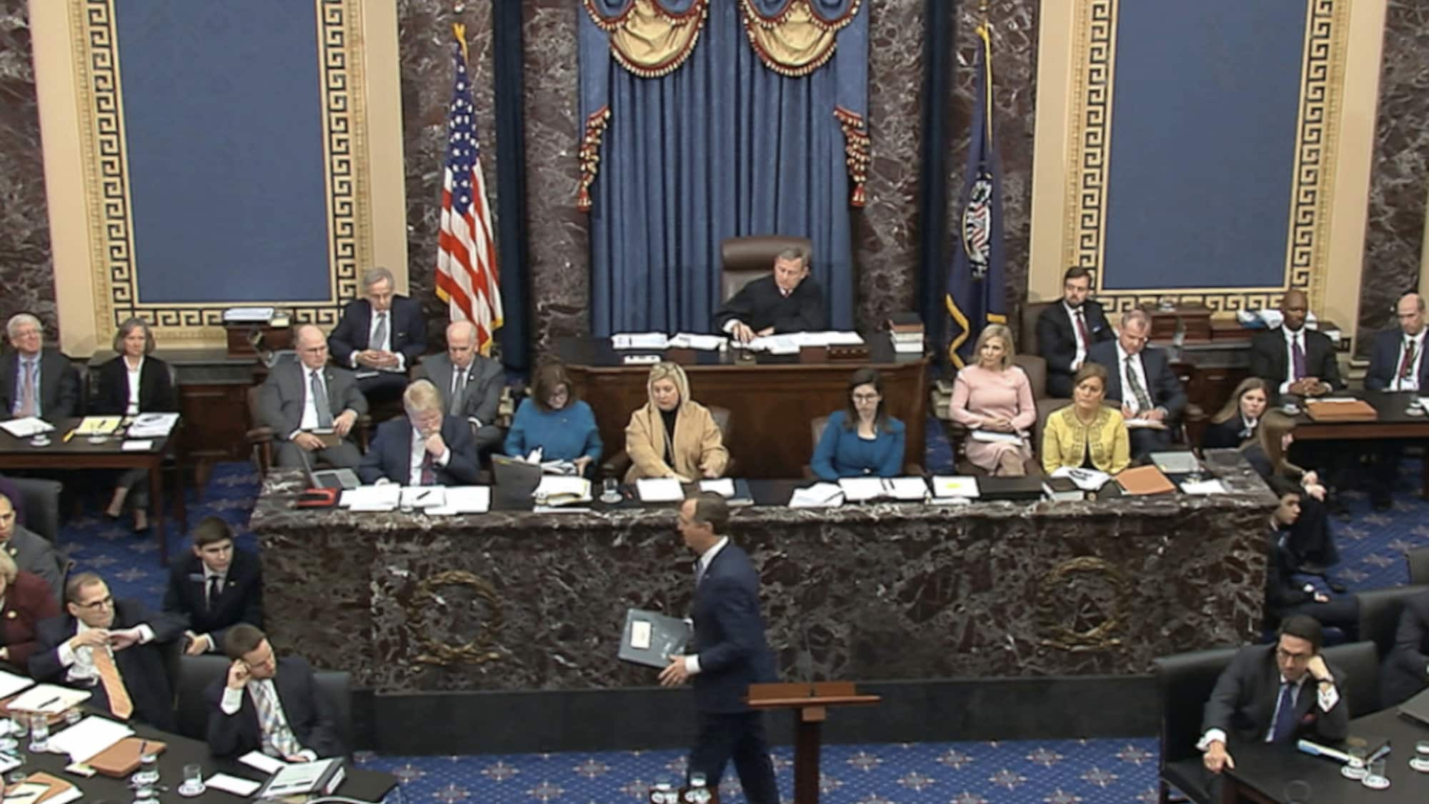 USA: Demokraten warnen im Impeachment-Verfahren vor Trump