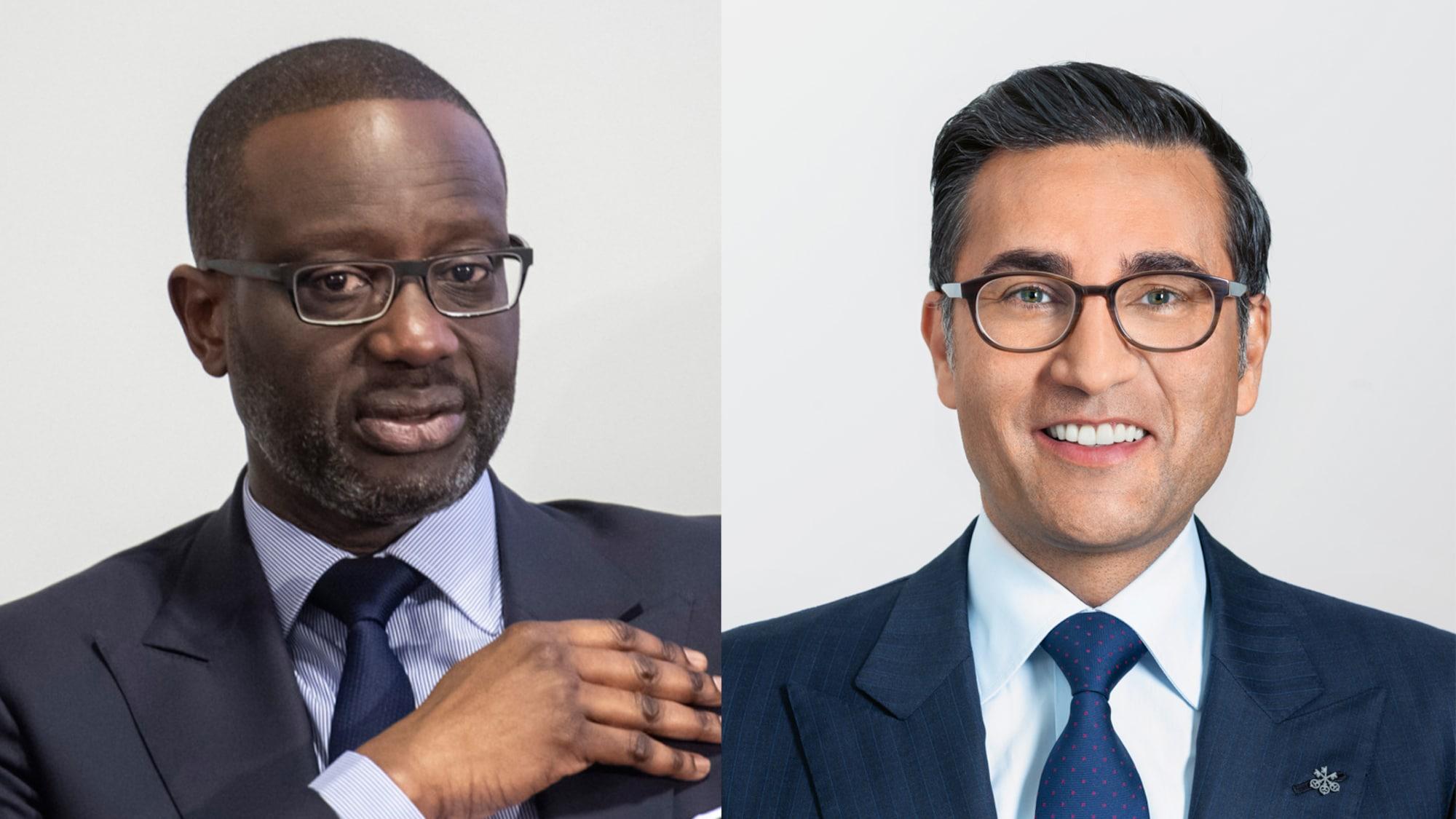 Mobbing in Chefetage der Credit Suisse: Streit zwischen Thiam und Khan begann mit Personalkonflikt
