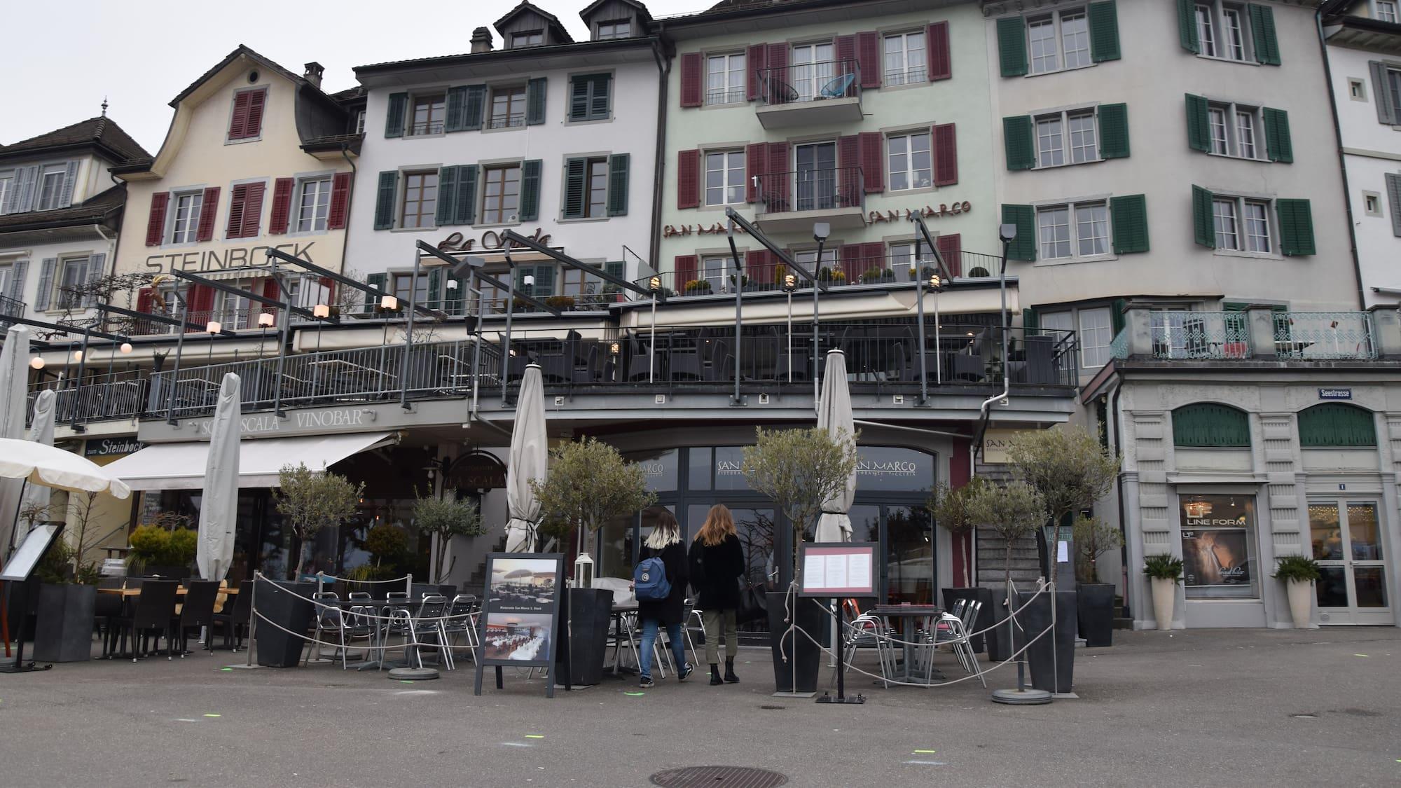 Grüsel-Eklat in Restaurant in Rapperswil SG