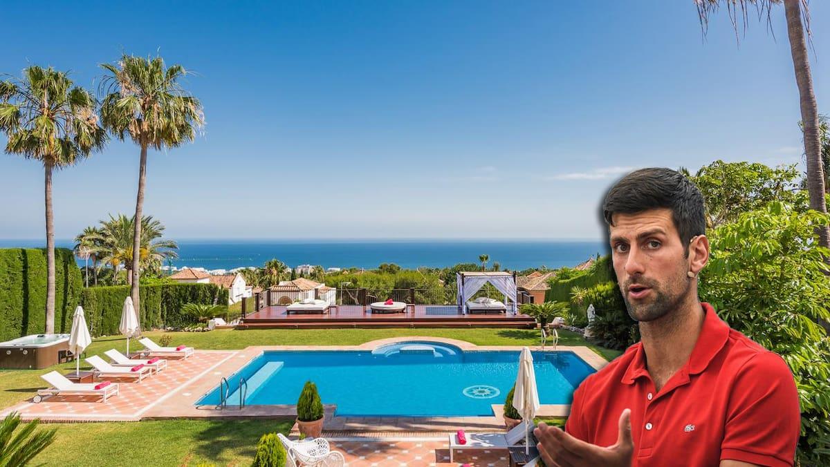 So Luxurios Verbrachte Tennis Star Novak Djokovic Den Lockdown