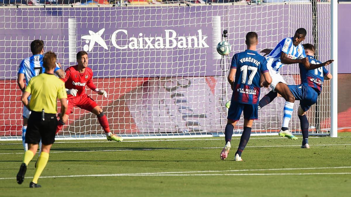 Unentschieden gegen Levante: Sociedad-Stürmer Isak glänzt mit einem Traumtor