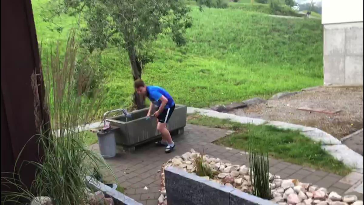 In Fischenthal explodiert Brunnen wegen Böller