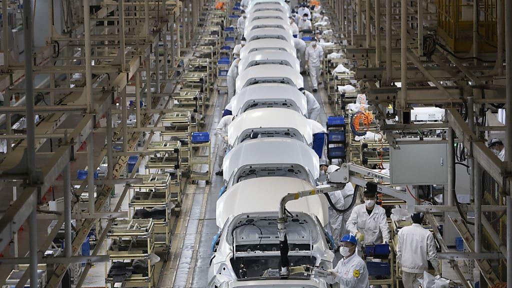 Volkswirtschaft: Chinas Industrie verzeichnet höchste Zunahme seit einem Jahrzehnt