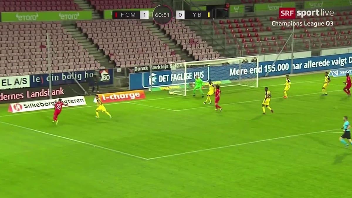 Midtjylland staubt zum 2:0 ab: Dänen reagieren nach Latten-Pech schneller
