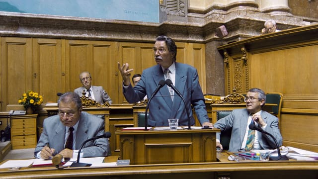 Alt Bundesrat René Felber ist tot