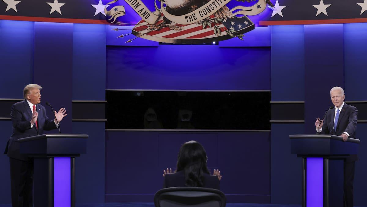 Finale TV-Debatte – die 5 wichtigsten Punkte: Gentleman Trump, solider Biden