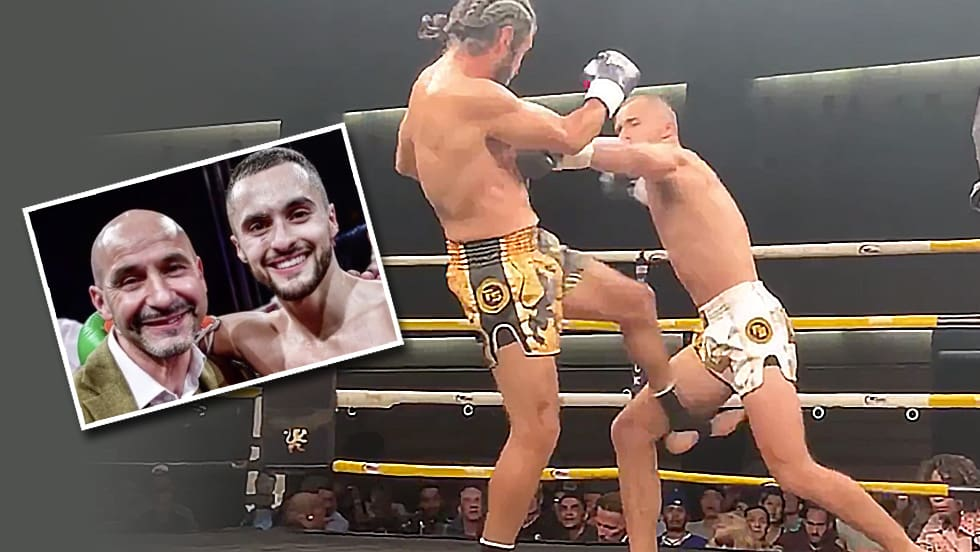 Er dominiert im Ring mit nur einem gesunden Unterarm!