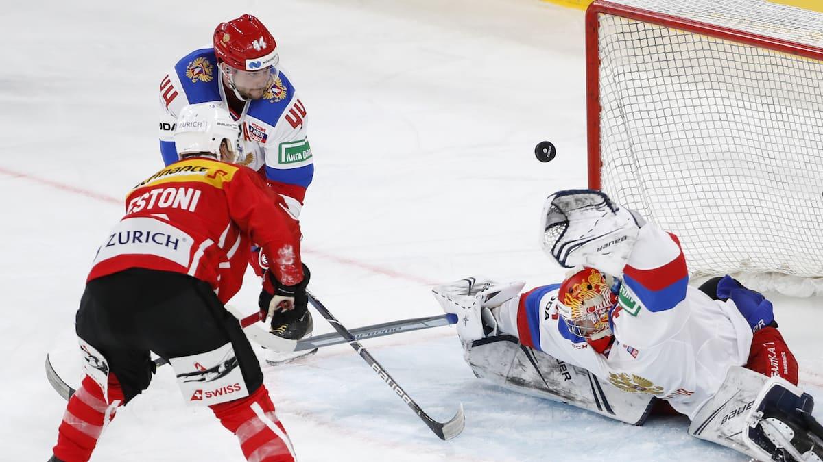 Schweiz glückt Test-Auftakt gegen Russland