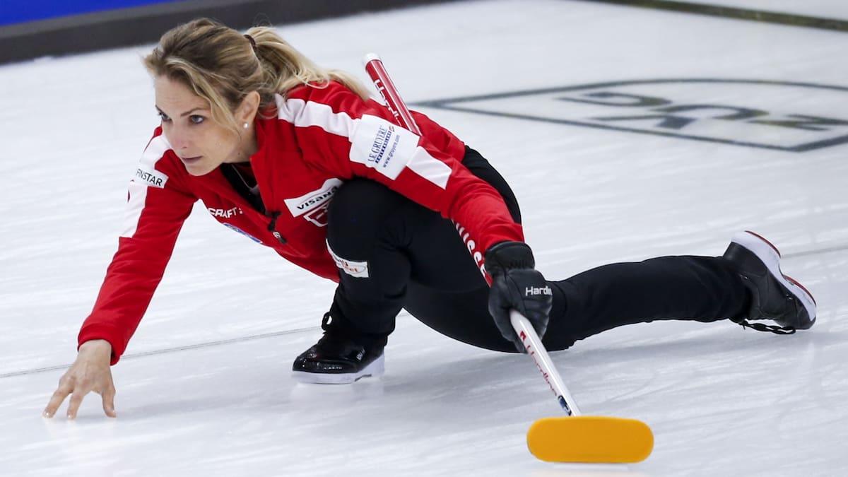 Schweizer Curlerinnen geben den Tarif durch