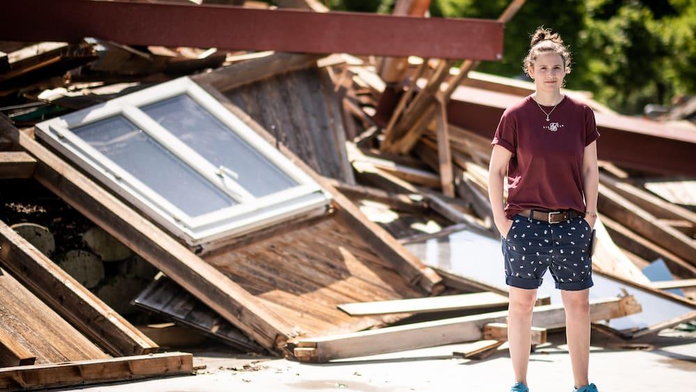 Nach Sturm am Sonntag: Gebäude auf Golfplatz in Kiesen BE komplett zerstört