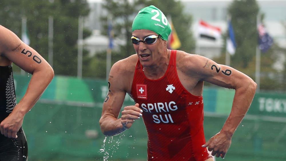 Triathlon-Gold geht nach Bermuda: Spirigs Medaillen-Hoffnungen gehen baden