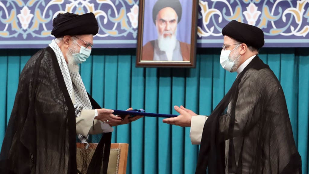 -/Iranian Supreme Leader's Office/dpa Foto: -/Iranian Supreme Leader's Office/dpa - ATTENTION: editorial use only and only if the credit mentioned above is referenced in full