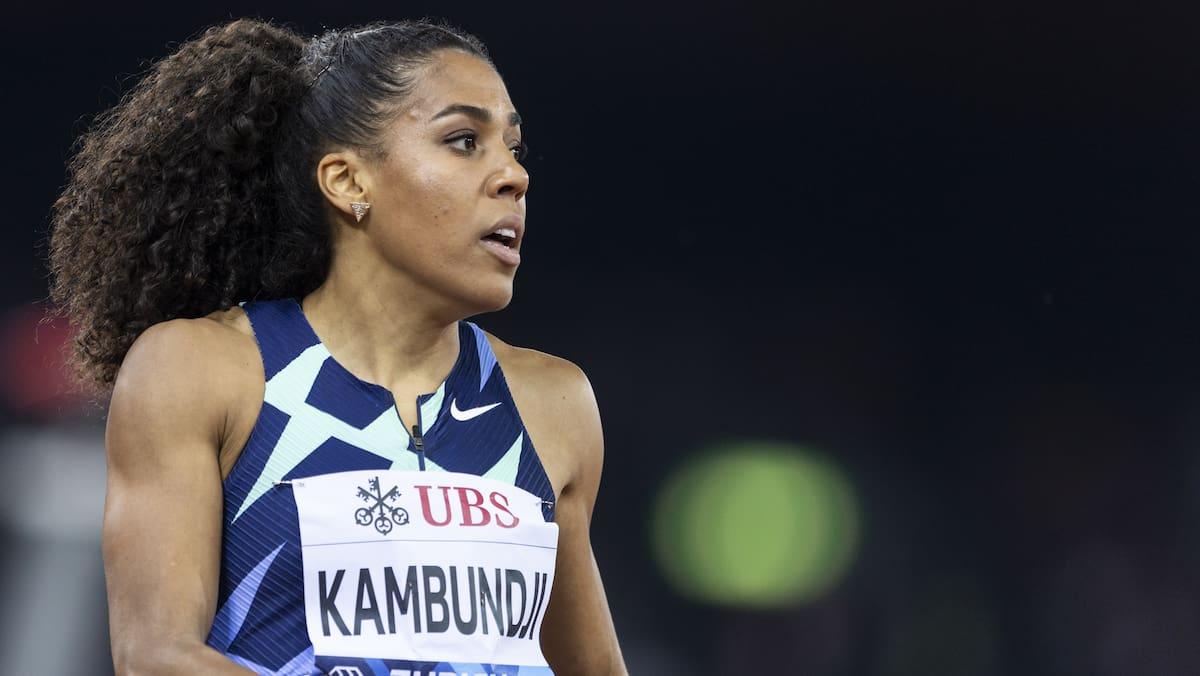 Kambundji sprintet auf Platz 2