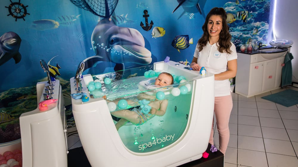 Baby Spa in Zürich: Hier bekommen die Kleinsten eine Wellness-Behandlung