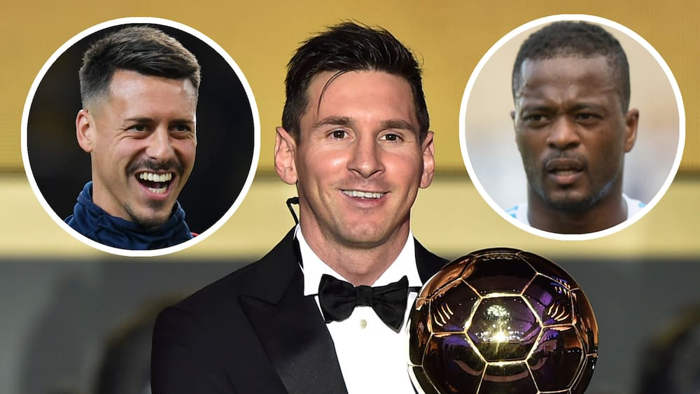 Wahl des Ballon d'Or: Ex-Profis Evra und Wagner wollen Messi stürzen