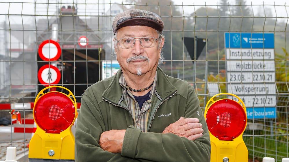 Brücke Rheinau: Deutsche Bürokratie treibt Hans-Peter Sigg in den Wahnsinn