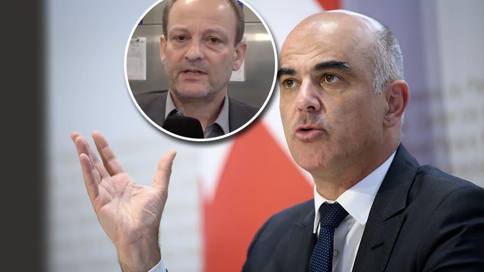 Gesundheitsminister Alain Berset will neues Zertifikat für Genesene - Blick