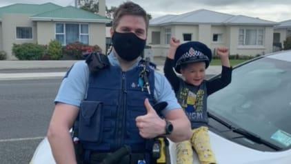 Neuseeland: Vierjähriger ruft die Polizei, um sein Spielzeug zu zeigen