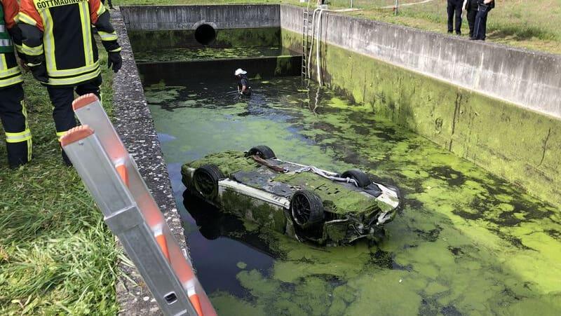 Gottmadingen (D): Porsche-Fahrer (†44) war auf dem Weg in die Schweiz