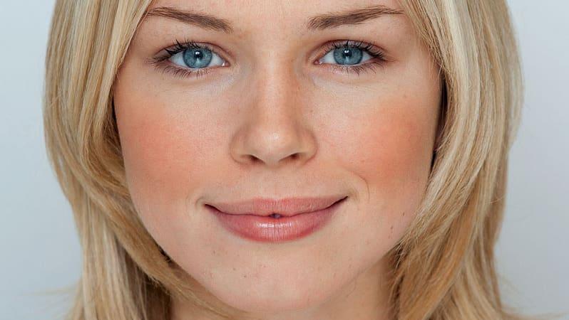 Florence Colgate 18 Hat Das Mathematisch Perfekte Gesicht Blick