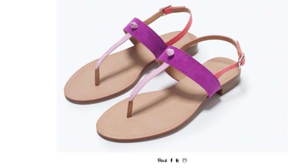 Der Nächste Fehltritt Zara Verkauft Sklaven Sandalen Blick