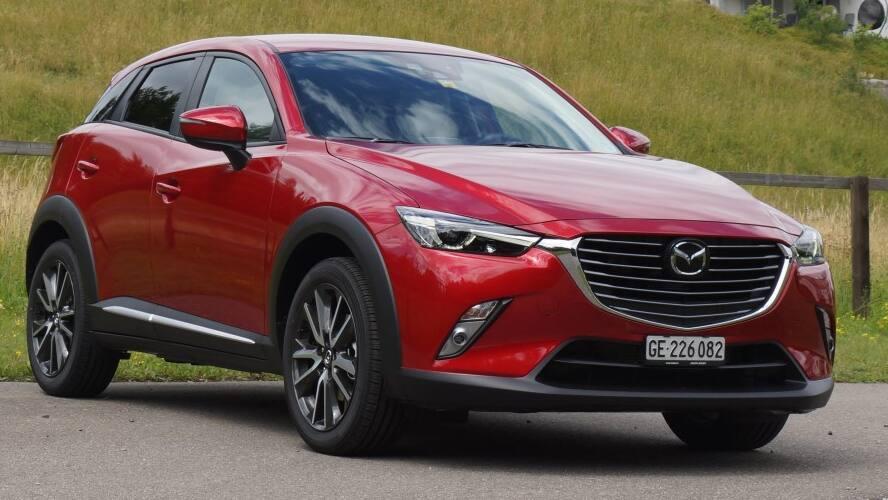 Schon Getestet Mazda Cx 3 Kleines Technikgenie Blick