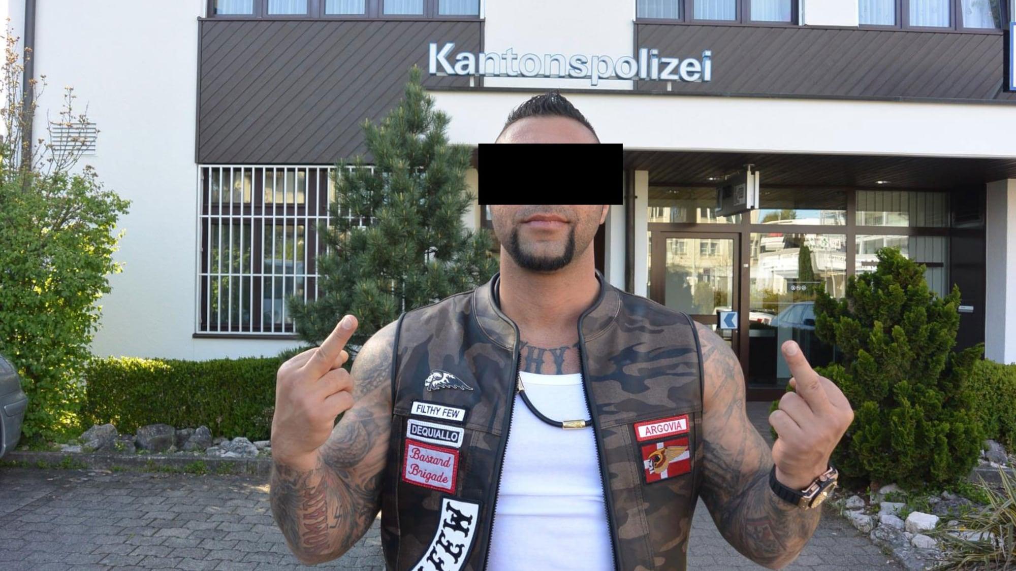 «Arschloch»-Rocker Reza J.: Jetzt will er zu den Bandidos