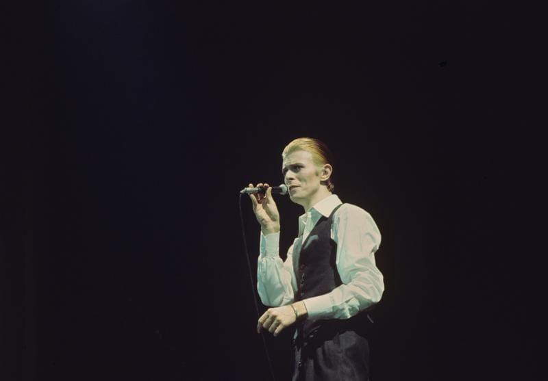David Bowies Unvergleichbare Augenfarbe Blick