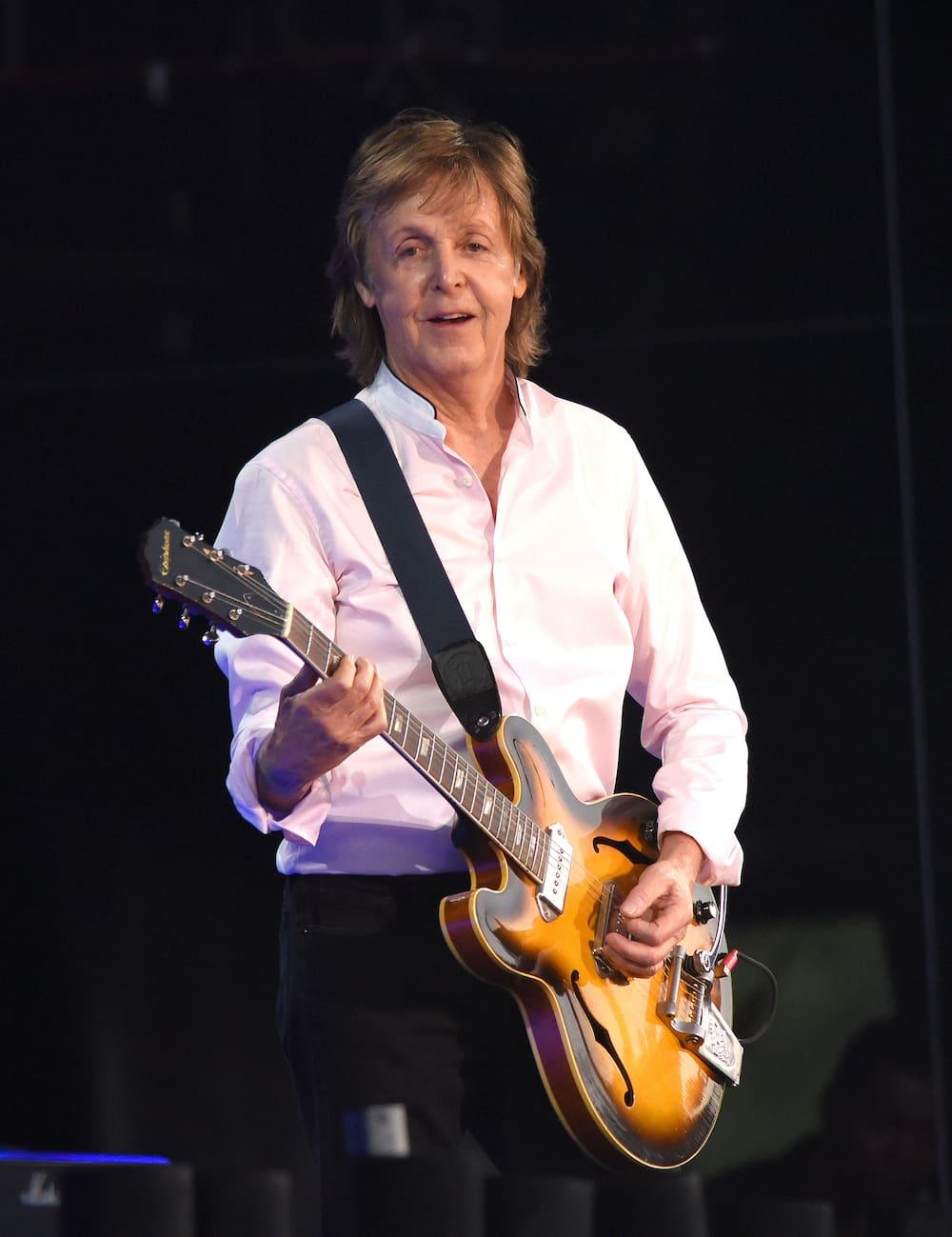 Beatles Star Paul Mccartney Auftritt In Fluch Der Karibik Blick