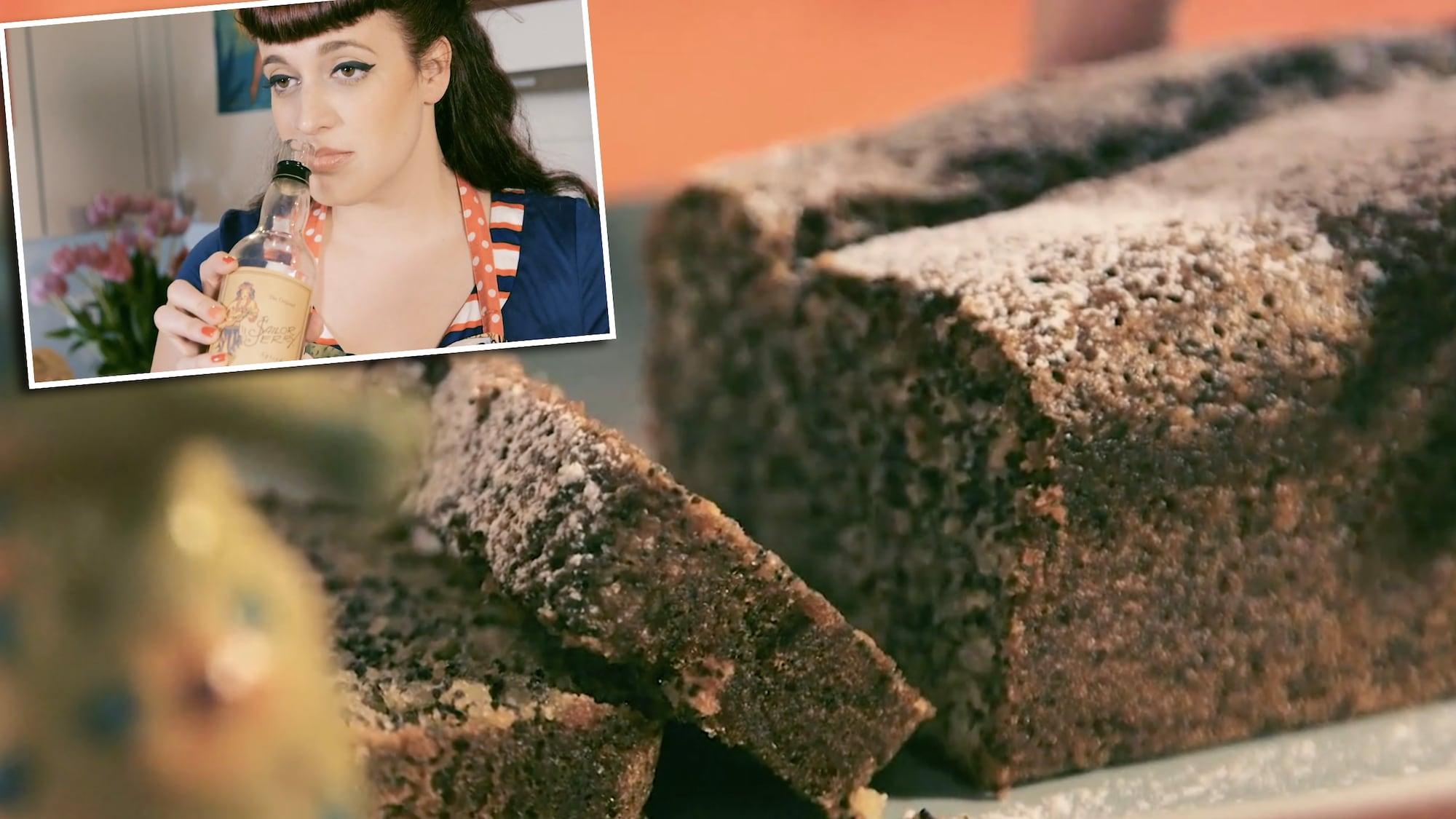 Einfach süss – Backen mit Petra: Dieser Mohnkuchen hat ein hochprozentiges Geheimnis
