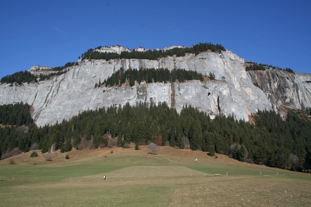 Klettersteig Flims : Klettern in flims gr: hier werden auch anfänger zu alpinisten blick