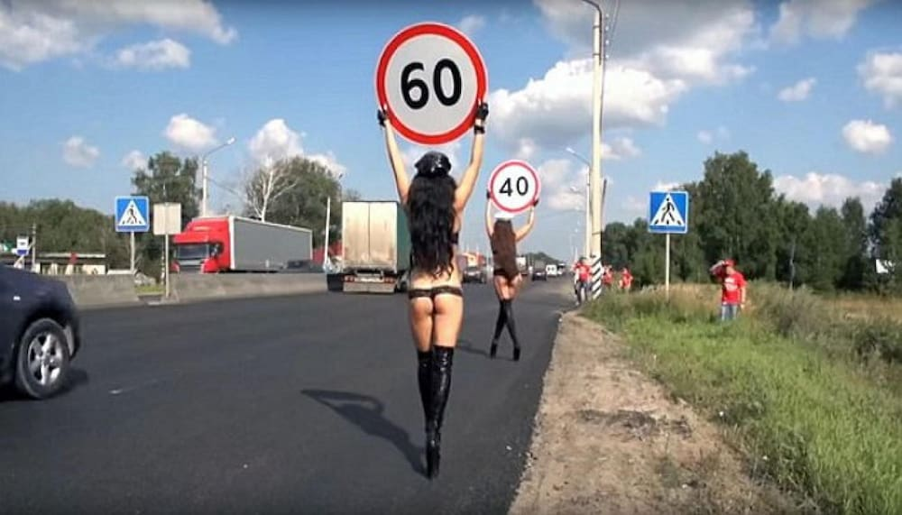 Russen Unfälle