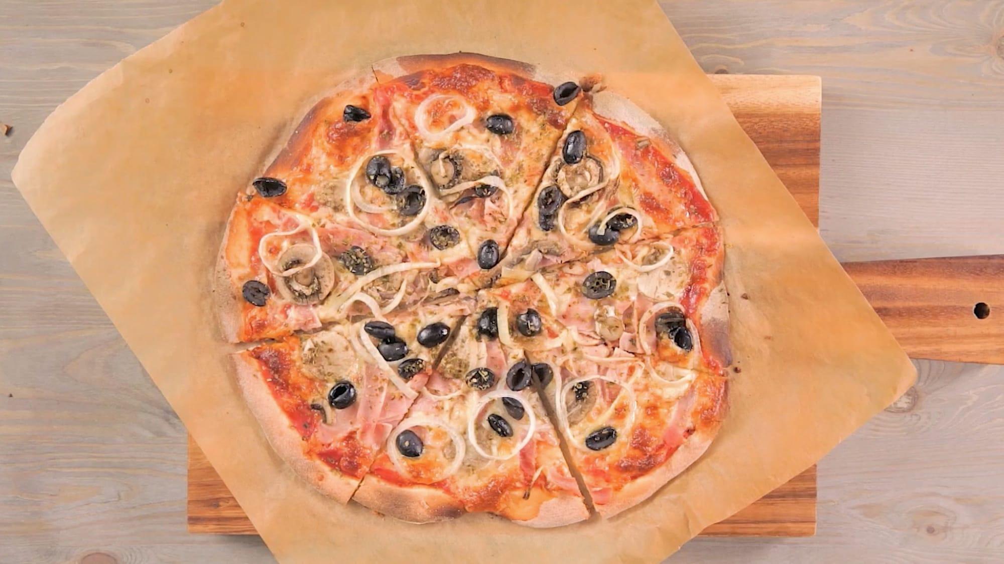 Schnelle Rezepte: Pizza — so einfach, so schnell!