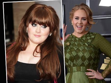Frisuren vor und nach dem Abnehmen