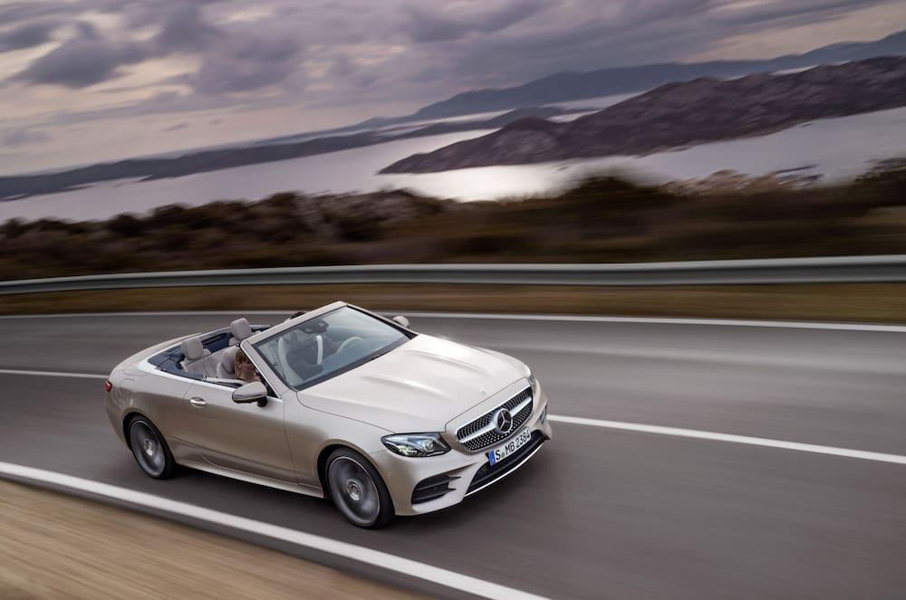 Mercedes E Klasse Cabrio Enthüllt Neue Offenheit Blick