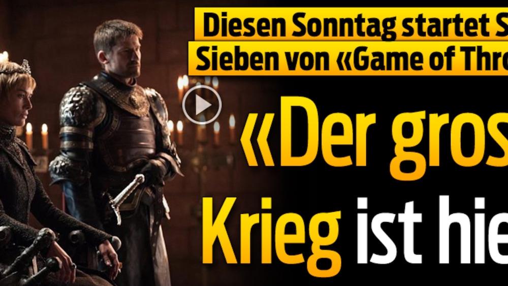 Game Of Thrones Staffel 7 Start Deutschland