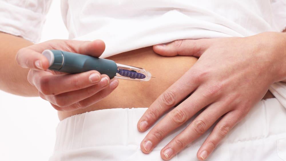 Richtig spritzen bei diabetes