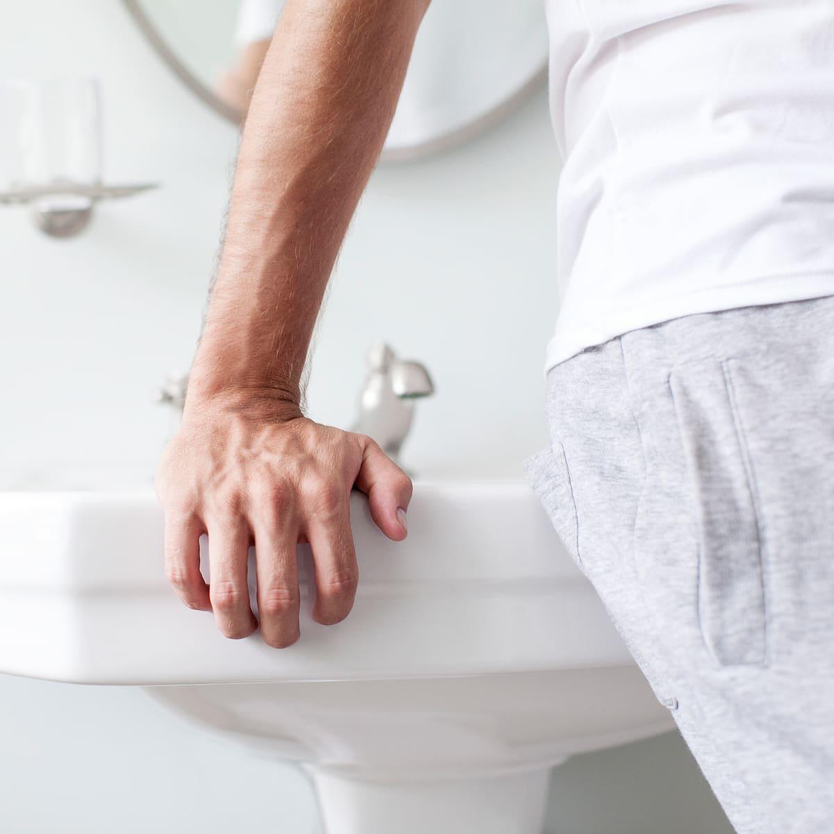 Zu trocken penis Trockener Sex