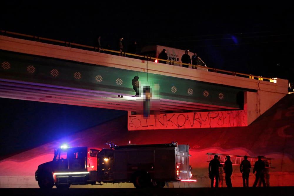 Mexiko Kartell Brücke.Opfer Mit Folterspuren Mindestens 31 Tote Bei Gewaltakten In Mexiko