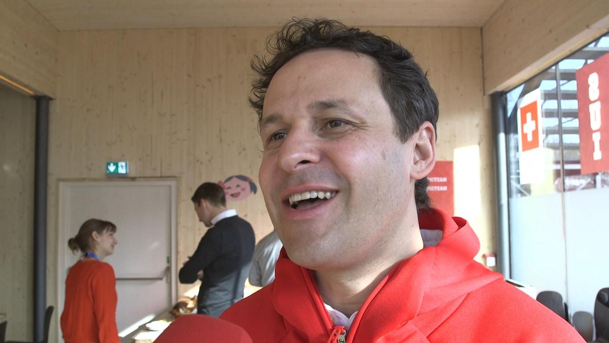 Luca Ruch erffnet den 10. slowUp Bodensee Schweiz