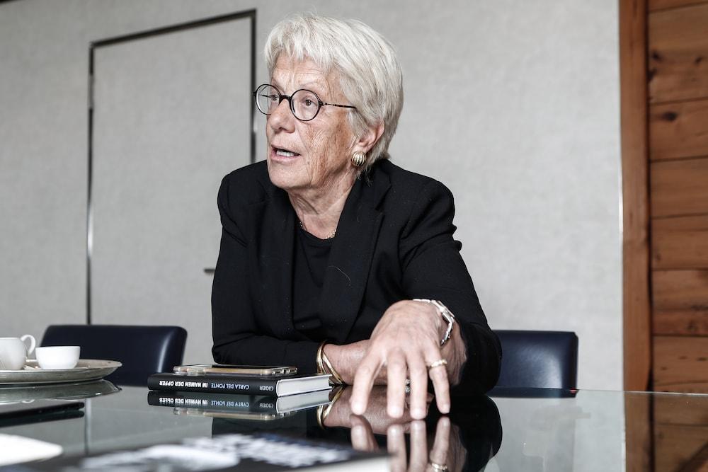 Carla Del Ponte teilt aus: «Die Uno ist eine Schwatzbude»