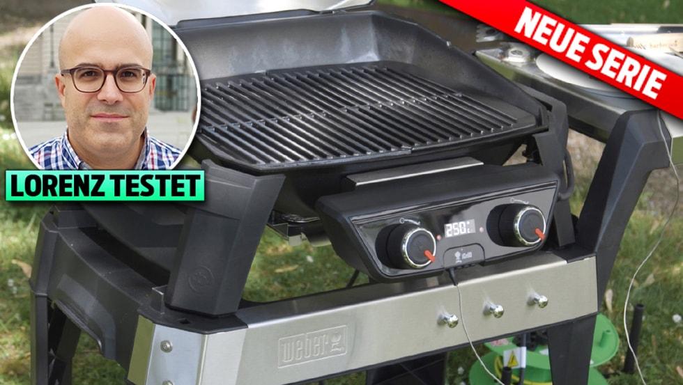 die neusten barbecue gadgets kann der weber elektrogrill mit kohle oder gas mithalten. Black Bedroom Furniture Sets. Home Design Ideas