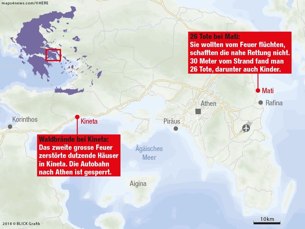 Waldbrände Portugal Karte.Interaktive Karte Waldbrände Wüten In Europa Blick